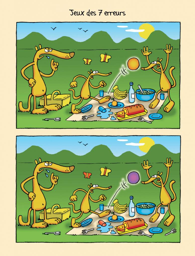page jeu des 7 erreurs