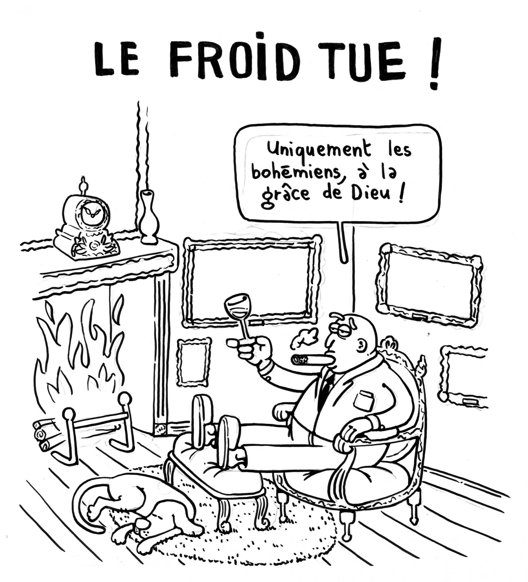 Le froid tue 1