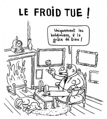 Le froid tue !