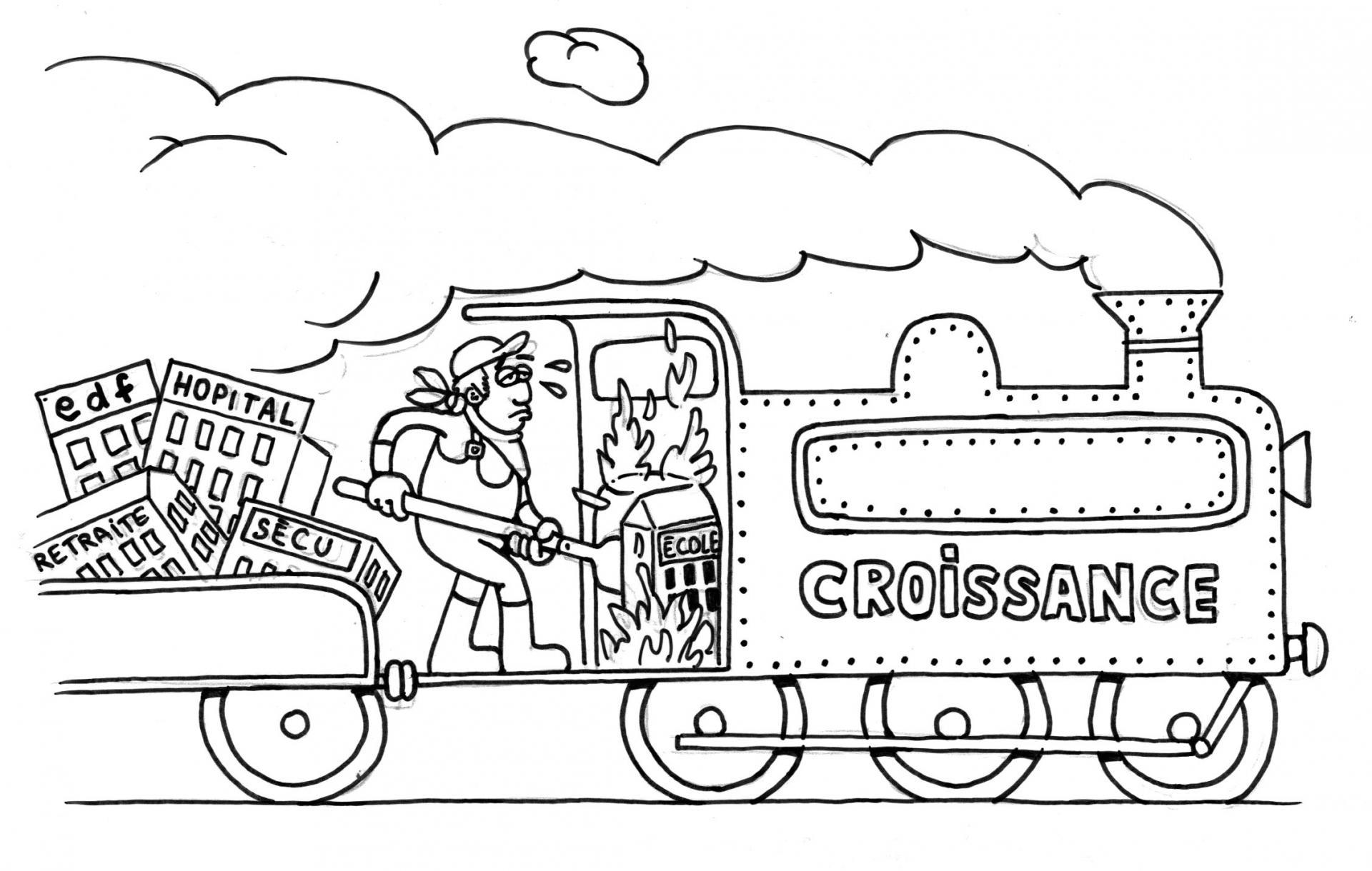 Train croissance